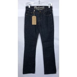 Madewell Bootlegger Jeans in Blue, Size 24 x 32